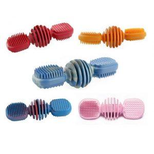 SUM-PLAST Zabawka dla psa gryzak szczotka 14CM
