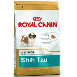 Sucha karma - Szczeniąr rasy Shih Tzu - Royal Canin